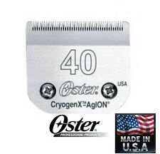 Oster A5/A6 Cryogen X 40 BLADE*Fit Most Andis,Wahl Clippers PET DOG CAT GROOMING
