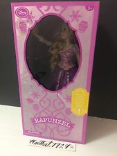 "DISNEY STORE DELUXE FEATURE Singing RAPUNZEL 16"" Doll light up Tangled NIB"