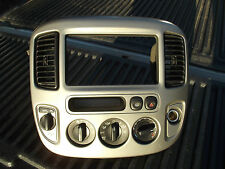 2002-2007 Ford Escape Heater Climate Control, 4x4 Switch, A/C Vents & Bezel OEM