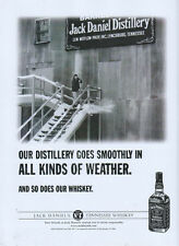 """Jack Daniels Whiskey """"All Kinds Of Weather"""" 2001 Magazine Advert #1785"""