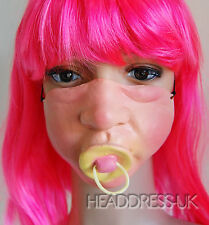Baby Dummy Comedy Latex Half Face Mask Costume Fancy Dress Party