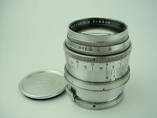 Carl Zeiss Jena 8.5cm F/2 Sonnar 85mm Lens for Contax Rangefinder