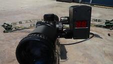 short aluminum crossbow mount bracket leupold Vendetta 2  rangefinder
