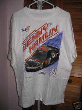 Chase Authentic Denny Hamlin #11 Fed Ex Straightaway Shirt Size 3XL NWT