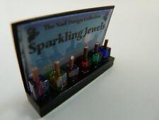 Maison de poupées miniature échelle 1:12 shop vernis à ongles display