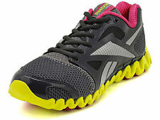 NEW Reebok Zignano Fly 2 Running Athletic Shoes Gray/Pink/Yellow Women's 6
