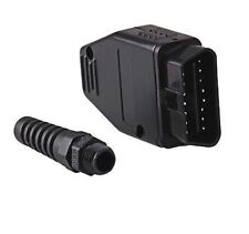 Universal OBD2 II 16 Pin Male Connector Diagnostic Adapter - UK seller