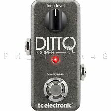 TC Electronic Ditto Looper Electronics Looping Guitar Effect Pedal & FREE Cable!