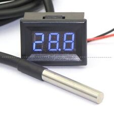 -67~+257℉ Digital Thermometer Tester LED Temperature Fahrenheit 12V 24V CAR B-