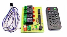 INSIGNIA LABS - IR 4 CHANNEL REMOTE CONTROL RELAY BOARD MODULE LIGHT/FAN CONTROL
