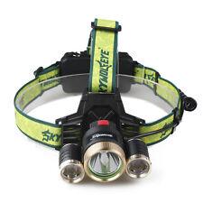 20000LM Cree 3x XM-L LED Headlight Flashlight Torch T6 Headlamp Head Light Lamp