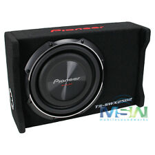 "PIONEER TS-SWX2502 10"" LOADED SHALLOW-MOUNT SEALED SUBWOOFER SUB ENCLOSURE BOX"