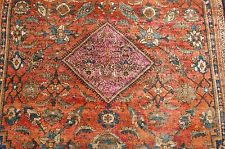 Circa 1910's ANTIQUE FINE PERSIAN SAROUK FERAHAN RUG 3x5.2 HIGH KPSI