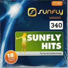 Sunfly Karaoke Hits 340 Brand New & Sealed ***New June 2014** Latest Chart Hits