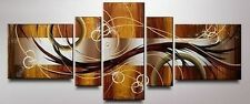 5pc large Canvas No Framed. Modern Abstract Huge Wall Decor Art Oil Painting