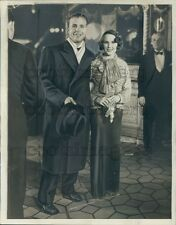 1933 Actors Dick Powell & Mary Brian 1930s Press Photo