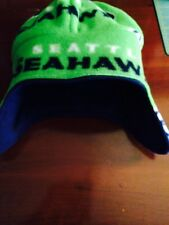 Super Soft Fleece Reversible Hat Seattle Seahawks Made In The USA
