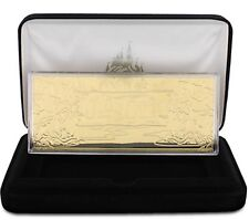 Disney Jungle Cruise Expedition 24K Gold Plated Limited Edition E TIcket