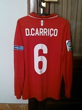 CARRICO #6 SEVILLA FC MATCH WORN/PLAYER ISSUE LONG SLEEVE SHIRT FOR LFP 2015/16