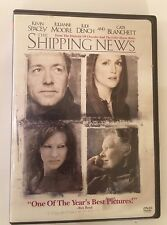 The Shipping News (DVD 2002) Kevin Spacey, Julianne Moore, Judi Dench