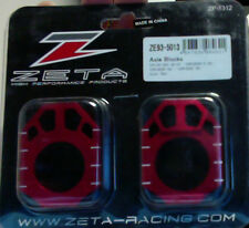 Zeta Axle Blocks RED Honda CR 92-07 CRF250 R/X CRF450 R/X 02-2014 ZE93-5013