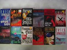 BIG Lot of (12) ERICA SPINDLER Thriller Books DEAD RUN Copy Cat CAUSE FOR ALARM