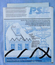 PSR1075 EASYHEAT CABLES FOR ROOFS,GUTTERS & WATERPIPES