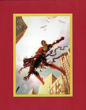 Arthur Suydam AMAZING FANTASY #15 COVER MATTED PRINT Marvel Zombies