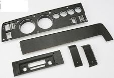 1970 B-body Charger Super Bee Rallye Dash Gauge Bezel Kit 5 piece Non A/C