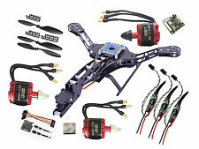 HJ-Y3 GF Tricopter 3-axis Multicopter kit Naze32 Acro Rev6 motor ESC 3M