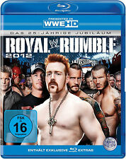 WWE Royal Rumble 2012 DEUTSCHE VERKAUFSVERSION BLU-RAY NEU
