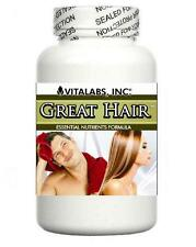 2x Strong Hair Growth Tablets Thicker Thinning Pills Prevents Splits Baldness