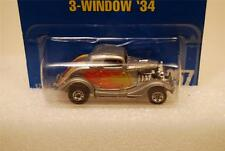 Hot Wheels 1995 Blue Card 3-Window '34 #257