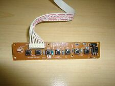 COBY FUNCTION CONTROL BOARD 001-FV15-1330-00R PULLED FROM MODEL TF-TV1513