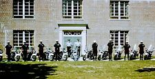 Vintage Slide 1960's Suffolk Co Motorcycle Police Department Ny Group Photo