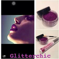 Purple Glitter Lips lipstick loose glitter 10g pot extra sparkle by GlitterChic