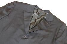 ERMENEGILDO ZEGNA Black Suit 44R 100% Wool