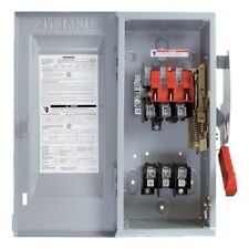 NEW!! Siemens Non-Fusible Safety Switch 600V 3P 400A HNF367R NEMA 3R Enclosure