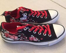 "CONVERSE Dr Seuss ""How The Grinch Stole Christmas"" Sneakers Womens 7 - DAMAGED"