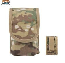 MULTICAM MILITARY COMBI TOOL POUCH BRITISH ARMY WEBBING PHONE COMBI KNIFE HOLDER