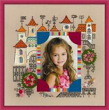 "Counted Cross Stitch Kit RIOLIS - ""Photo frame Princess Castle"""