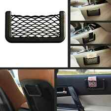 New Car SUV Storage Mesh Net Resilient String Phone Bag Holder Organizer For BMW