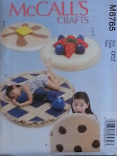 McCall's Pattern M6765 Kids' Floor Mats and Pillows  New FREE SHIPPING