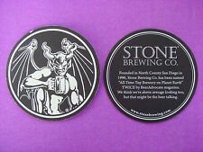 Beer Coaster Bar Mat ~*~ STONE Brewing Co ~ Founded in San Diego County in 1996