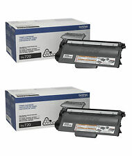 2-PACK GENUINE BROTHER TN720 BLACK TONER CARTRIDGE TN-720 DCP-8110DN