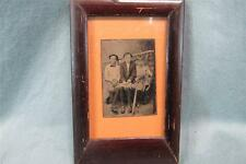 Amazing 1800s Vintage Baseball Children's Tintype! Great Shape! Check it out!