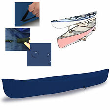 EliteShield Canoe Kayak All Weather Boat Cover fits up to 18'L Navy