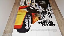 FAST AND FURIOUS tokyo drift  !  affiche cinema cars
