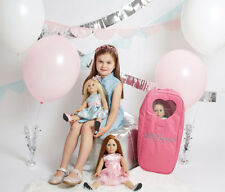 """Doll Travel Case 18"""" American Girl Our Generation"""