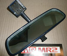 Toyota MR2 MK2 Blue Interior Rear View Roof Mirror - Mr MR2 Used Parts 1989-99
